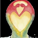 Flavicon Yoga met je hart